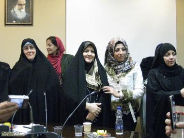 Muslim woman and cultural activities - muslim women in Hijab - 16