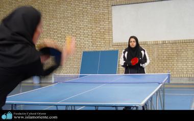 Мусульманская женщина - Спорт мусульманских женщин - Мусульманские иранские женщины и настольный теннис - 94