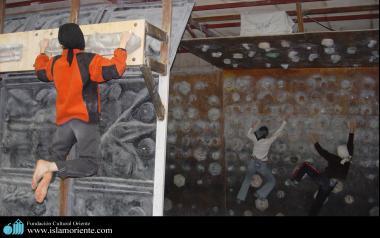 رياضة التسلق للنساء مسلم الإيراني - 93