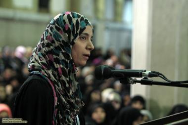 Mulheres participam do discurso e tiram suas duvidas sobre a religião