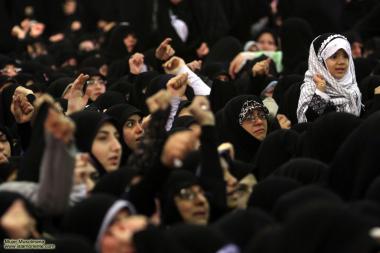 Toda as idades presente no discurso do Imam Khomeine