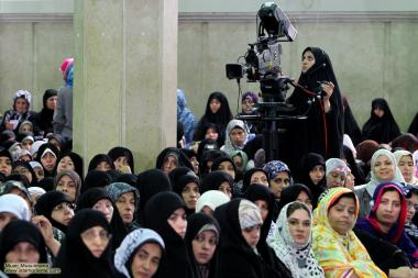 Muslim woman, hijab (headscarf) and work - 51