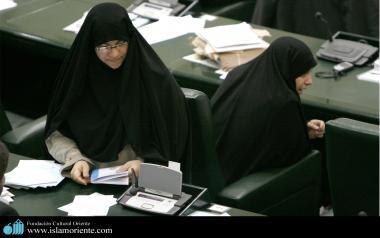 Mulher muçulmana na politica