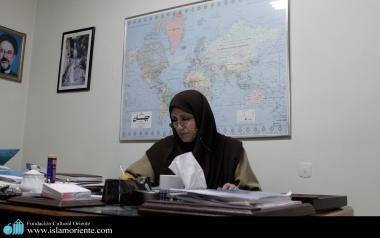 Muslimische Frauen in akademischen Aktivitäten - Die muslimische Frau und die Arbeit