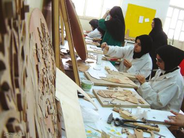 Работа , хиджаб и искусство мусульманских женщин