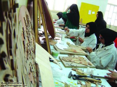 イスラム教の女性の仕事(工芸品・装飾品)