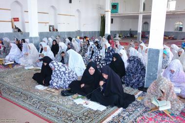 イスラム教女性の宗教的な活動