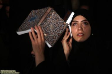 Mulheres na noite do Decreto - Lailatul Qadr. Noite de vigília nas mesquitas