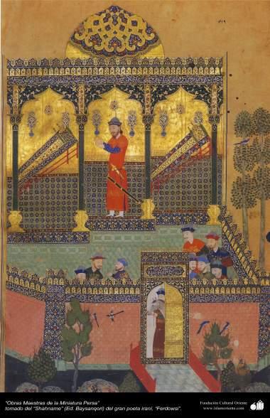 Obras-primas da Miniatura Persa - Extraído do épico Persa Shahname de Ferdowsi - (Ed. Baysanqiri) 28