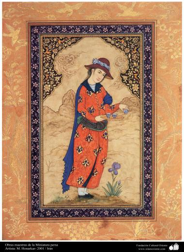 Obras maestras de la Miniatura persa- Artista: M. Honarkar- 2001 (5)