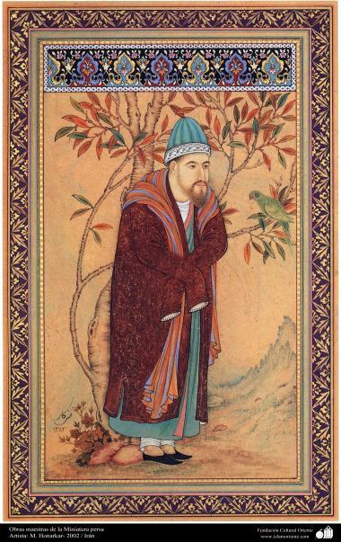 Obras maestras de la Miniatura persa- Artista M. Honarkar- 2002 (2)