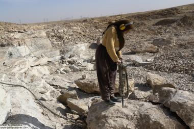 イスラム教の女性の仕事(鉱山)