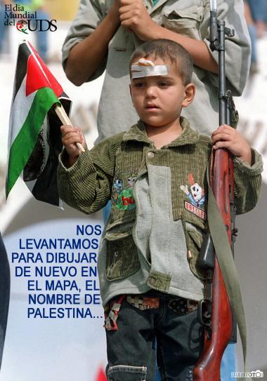 O dia Mundial de Al-Quds - Nos levantamos para desenhar um novo mapa em nome da Palestina