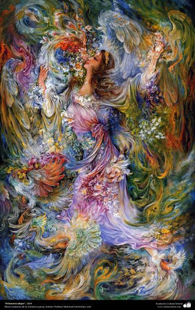 Primavera alegre, 2004, Obras maestras de la miniatura persa; M. Farshchian