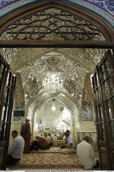 Architettura islamica-Ravagh Darol Ezzat-Vista del santuario di Imam Reza (P)-Qods Rasavi-Mashhad(Iran)-63