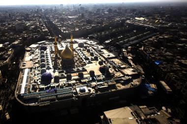 المعماري الإسلامي - مرقد الامام الحسين علیه السلام و حضرت أبوالفضل عباس علیه السلام فی کربلا - 15
