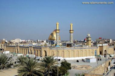 Holy Shrine of Abul Fadl al-Abbas (brother of Imam al-Hussein) in Karbala