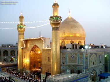 Holy Shrine of Imam Ali in Najaf - Irak/Nocturnal view