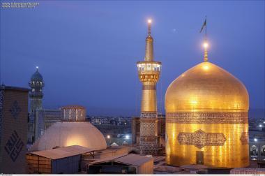 Святые места ислама – Исламская архитектура – Фасад святого храма Имама Резы (мир ему) – Кудс Разави в святом городе Мешхеда , Иран - 57
