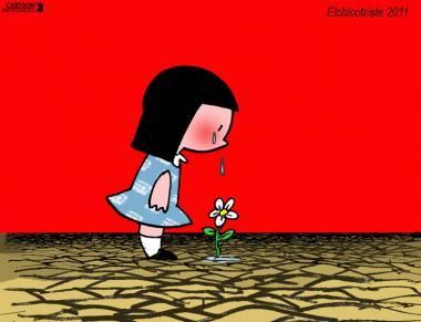 Tierra sedienta (Caricatura)