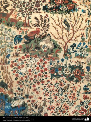 Исламское исскуство - Ремесло - Текстильное искусство - Персидский ковёр - Исфахан - Иран - В 1911 г. - 90