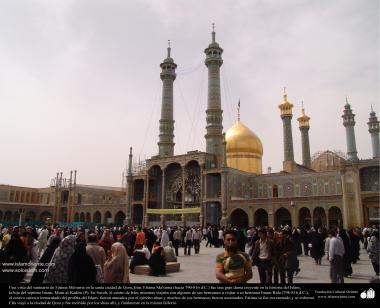 Una vista del santuario de Fátima Ma'suma (P) en la santa ciudad de Qom - 15