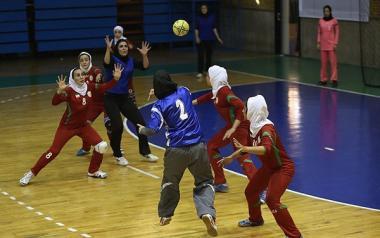 Le Donne musulmane e Hijab islamico-Pallamano
