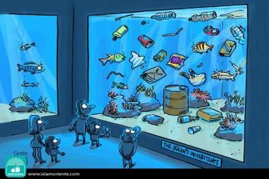 Acuario moderno... (Caricatura)