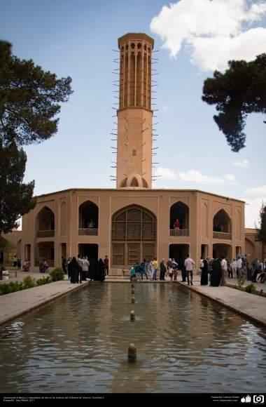 Architettura islamica- La torre del vento nel giardino di Dolat Abad a Yazd- Foto : Sara Mahdi- 2017