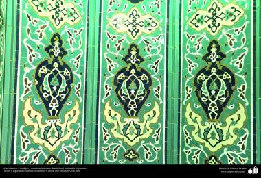 Arte islámico – Azulejos y mosaicos islámicos (Kashi Kari) realizados en paredes, techos y cúpulas del Instituto Académico Cultural Dar-alHadith, Qom, Irán 3