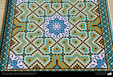 Islamic Art - Islamic mosaics and decorative tile (Kashi Kari) made in walls, ceilings and domes - Dar-alHadith Cultural Academic Institute  , Qom, Iran – 88