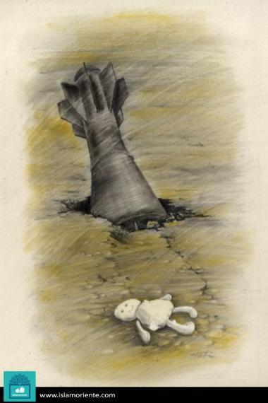Caricatura - O silêncio dos inocentes
