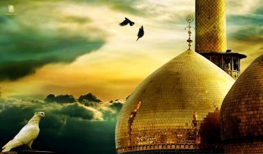 Vista della cupola del santuario di Imam Kazem (P)-Kazemein (Iraq)