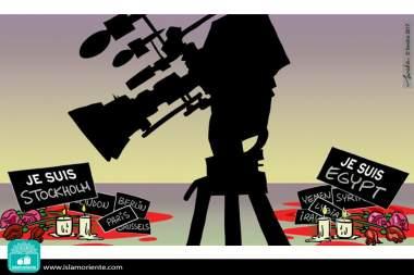 Imparcialidad mediática... (Caricatura)