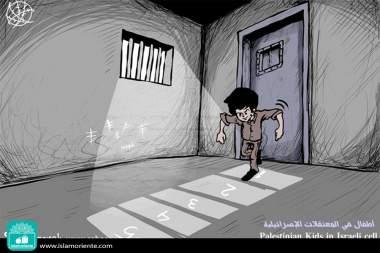 Infancia Palestina (Caricatura)