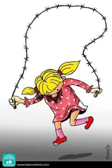 Juegos inocentes (Caricatura)