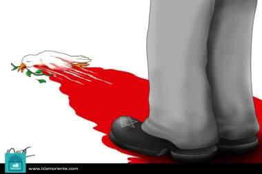 La paz en agonía (Caricatura)