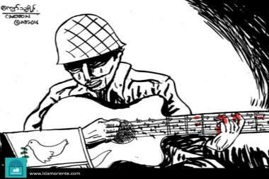 La tonada de la paz (Caricatura)