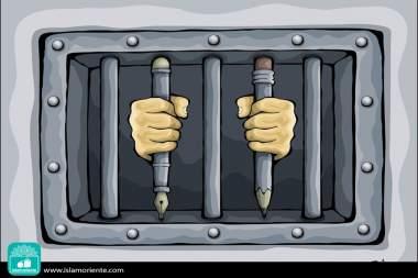 Libertades... (Caricatura)