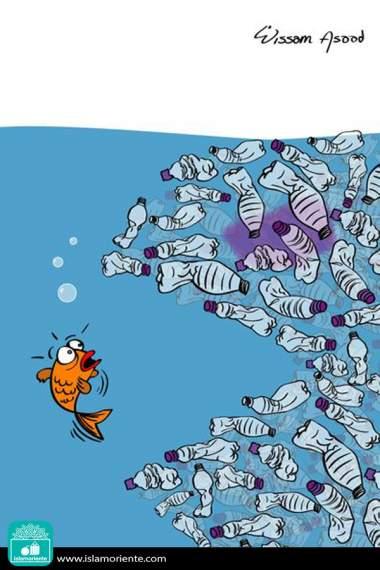 Caricatura - Novas espécies marinhas
