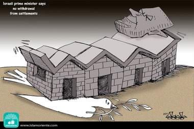 Paz avasalladora (Caricatura)