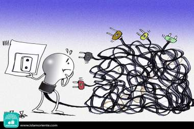 Caricatura - Tendo uma ideia