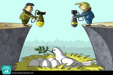 Por la paz... (Caricatura)