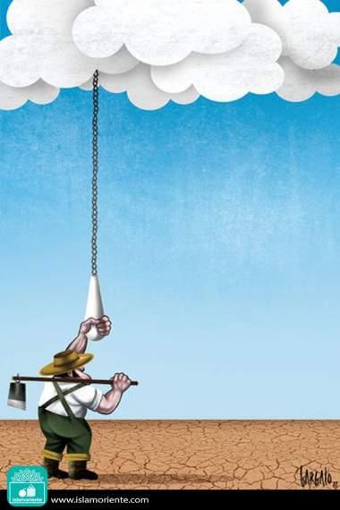 Pragmatismo climático (Caricatura)