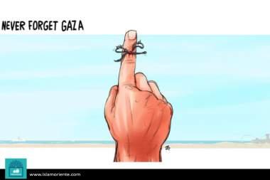 Sin olvido ni perdón (Caricatura)
