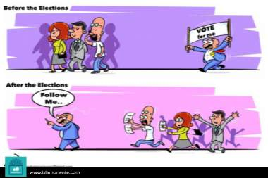Caricatura - Ante e depois