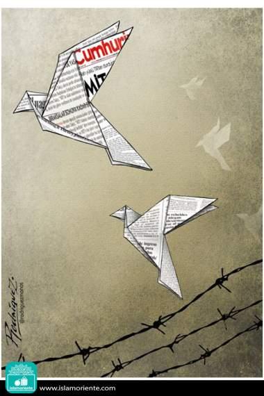 Verdades reprimidas (Caricatura)